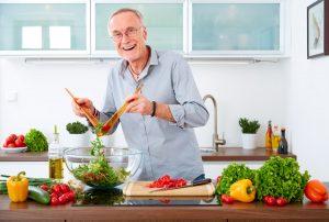 Ernähren Sie sich mit zunehmendem Alter besser