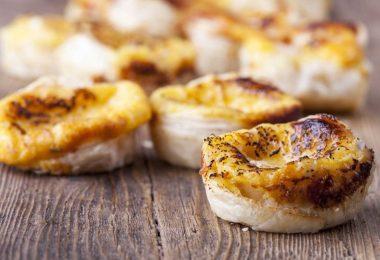 Portugiesische Desserts: Rezept für Pastéis de Bélem aus Lissabon