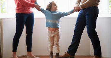 Trennung: Verhindern Sie, dass das Kind leidet