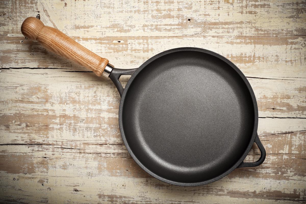 Welche Pfanne eignet sich für welches Gericht?