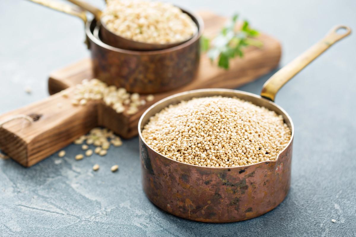 Heiliges Quinoa: Bleiben Sie gesund mit eiweißreichem Powergetreide