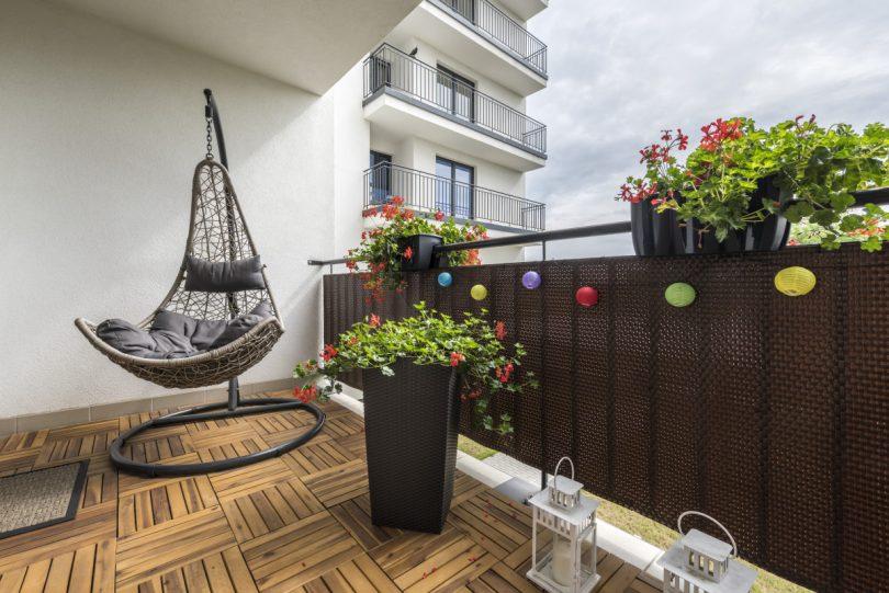 Deko selber machen für Terrasse und Balkon