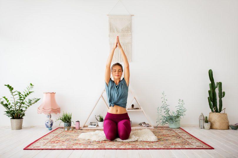 Eine einfache Übung zu Kundalini Yoga
