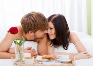 Liebeserklärung auf dem Frühstücksei
