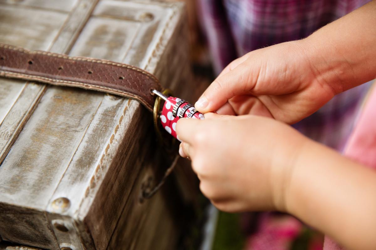 Ein besonderer Kindergeburtstag: Burgwanderung und Schatzsuche