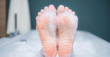 Vorbeugende Maßnahmen gegen Fußpilz