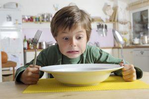 Die größten Irrtümer: Das Kind muss seinen Teller leer essen