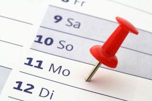 Aufgaben und Termine sinnvoll planen