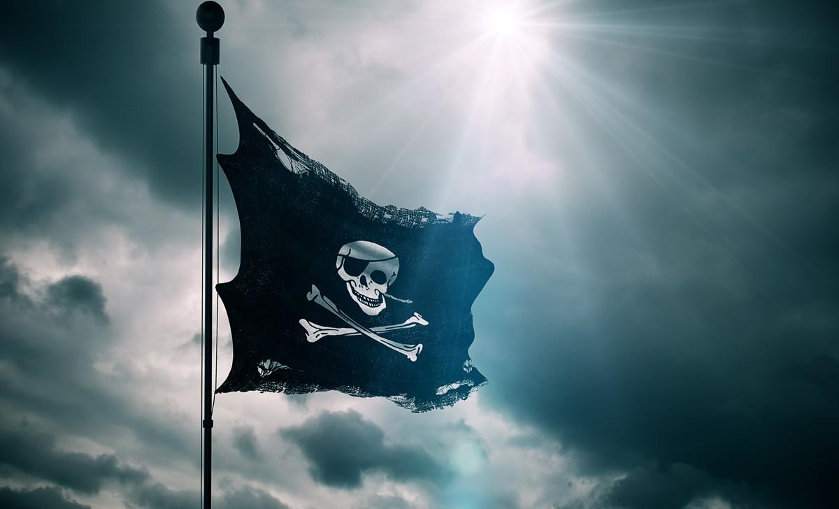 Piratenflagge basteln