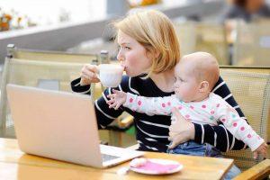 Tipps zum Stressabbau für Mütter