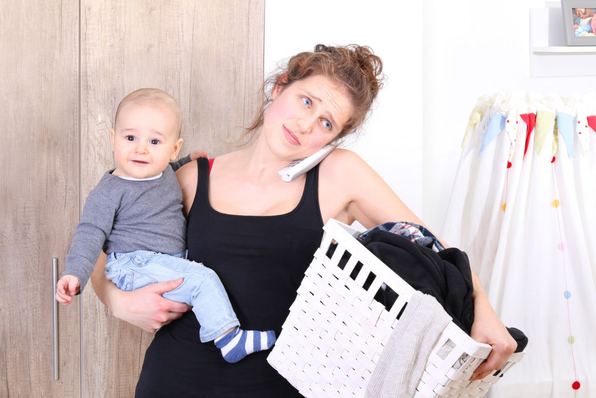 Der Alltag einer Mutter: Stress erkennen und vermeiden lernen