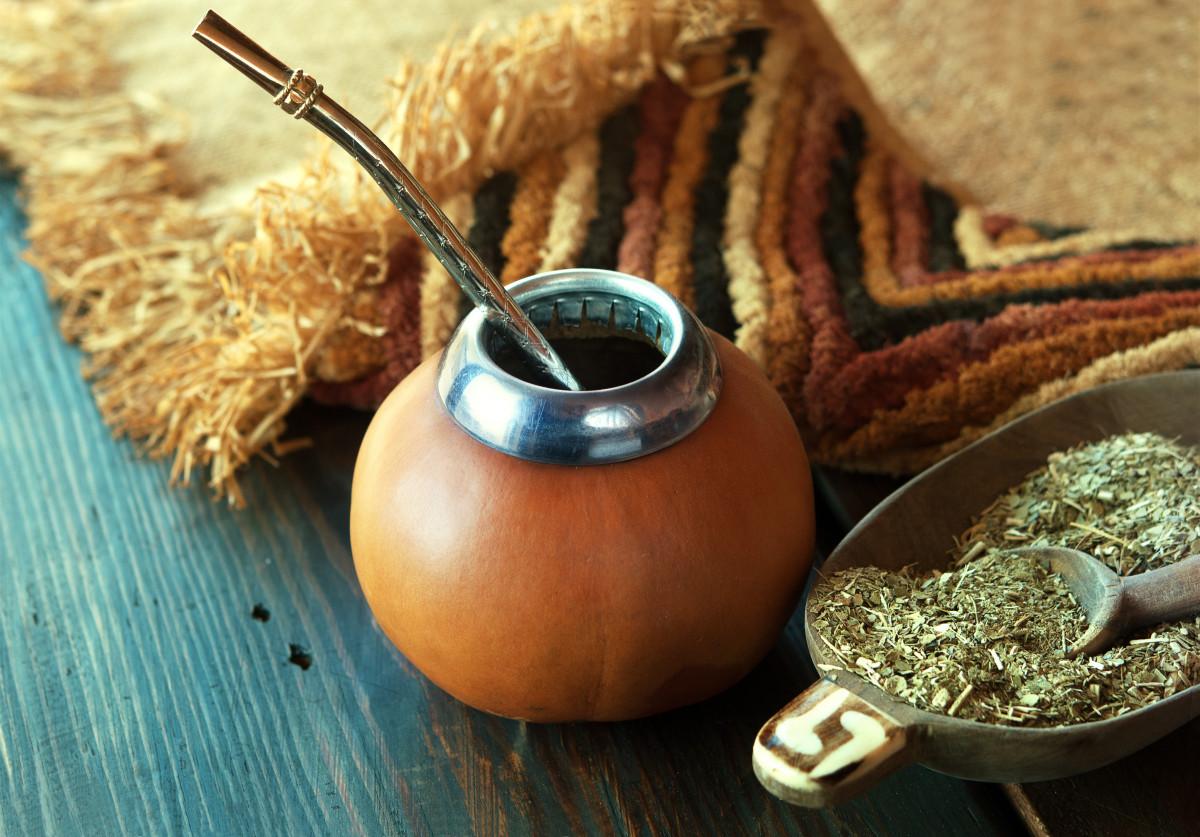 Gesund abnehmen mit grünem Mate-Tee