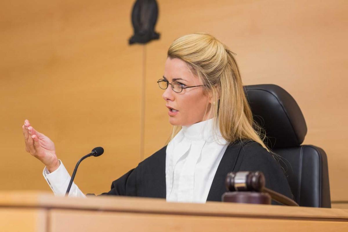 Wie Sie vor Gericht vor dem Richter punkten