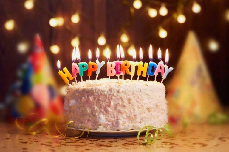 Geburtstagswünsche: Schicken Sie ein Foto mit Botschaft