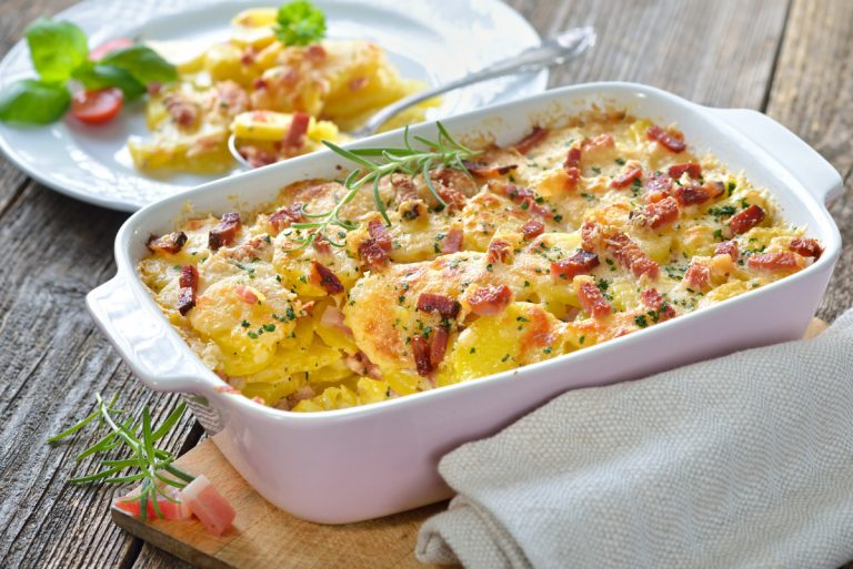Rezept für Kartoffelgratin und Fleischpfanne: So gelingt's!