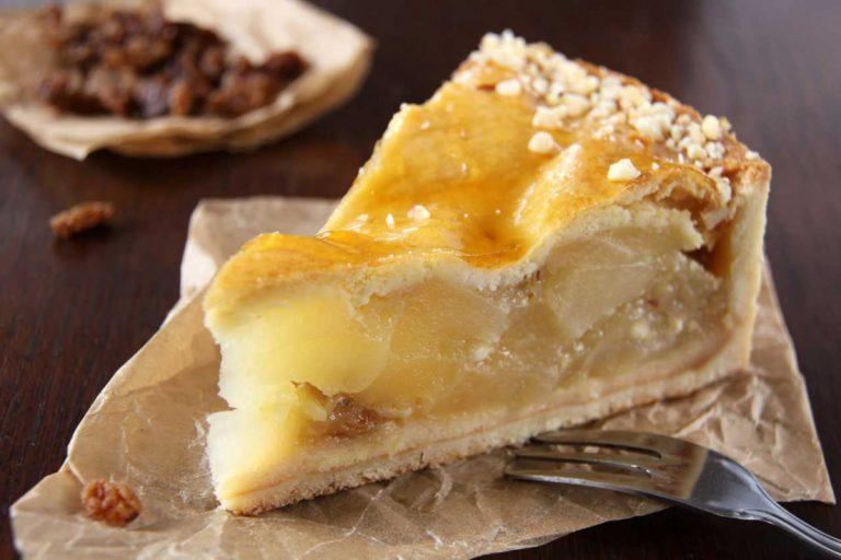 Gedeckter Apfelkuchen: ein köstlicher Genuss!