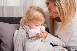 Erkältung bei Kindern homöopathisch behandeln