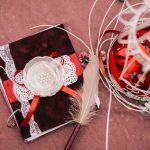 So nutzen Sie Decopatch für Ihr selbst-gemachtes Hochzeitsgästebuch