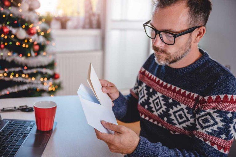 Weihnachtspost: Wie Sie in diesem Jahr alles stressfrei organisieren