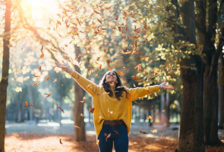 Im Herbst - achtsam durch den Tag