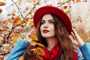 Machen Sie tolle Herbst-Portraits auch bei Wolken