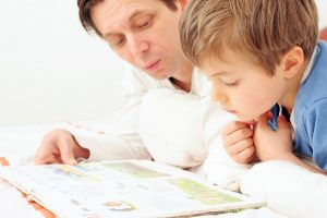 Väter für das Vorlesen begeistern