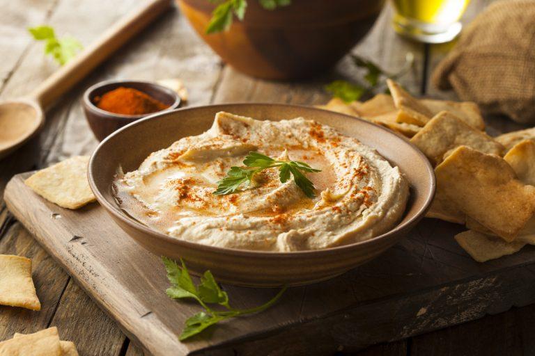 Syrisch-libanesische Küche: Rezept für Hummus (Kichererbsenpüree)