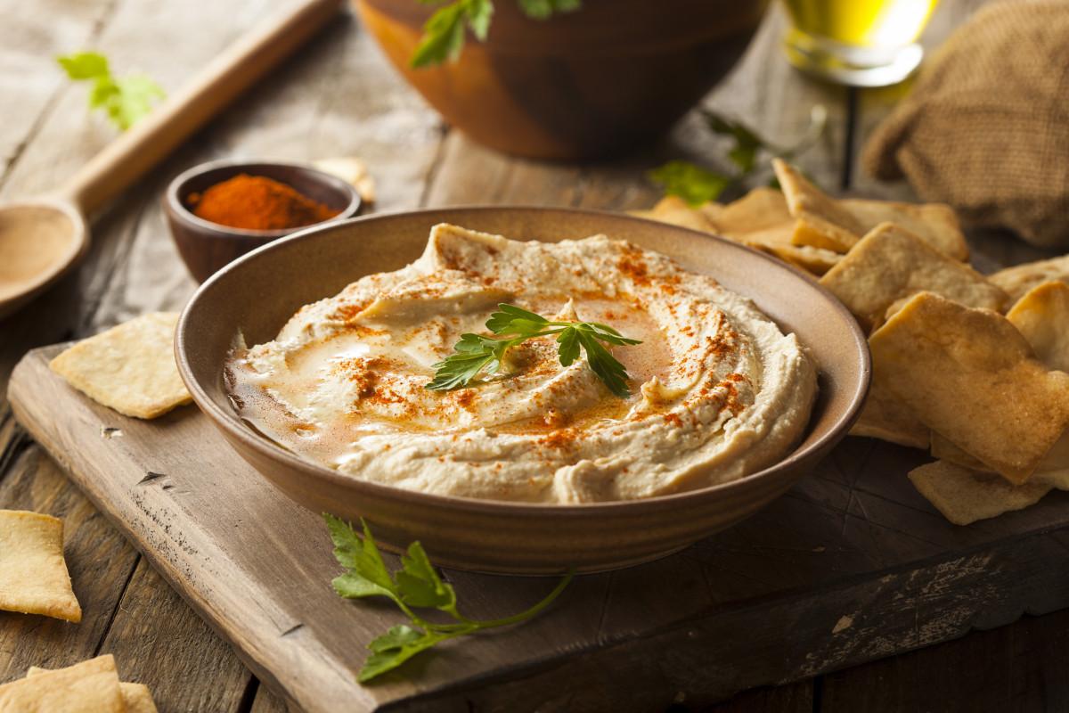 Syrisch-libanesische Küche: Rezept für Hummus (Kichererbsenpüree ...