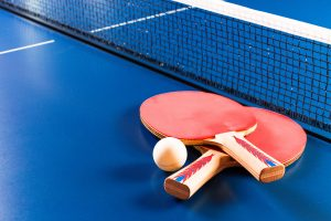 Tischtennis – so spielen Sie einen Stoppball