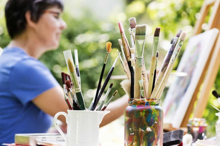 Kreativ sein: Glück finden im Ausleben eigener Ideen