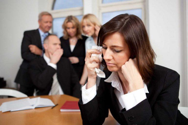 Mobbing: Wie können Sie sich wehren?