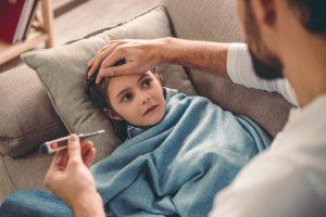 Richtig Fieber messen bei Kindern