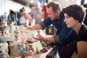 Flohmarktfunde - aus alten Tischdecken Neues nähen