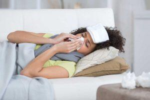 So können Sie sich bei Grippe selber helfen
