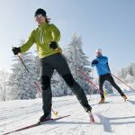 Sport für den Rücken: Langlauf