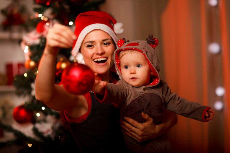 Was schenkt man einem Baby zu Weihnachten?
