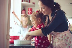 Kuchen backen mit Kindern - ein einfaches Rezept