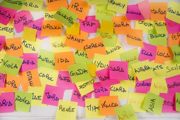 Namen merken im Smalltalk: die haptische Methode