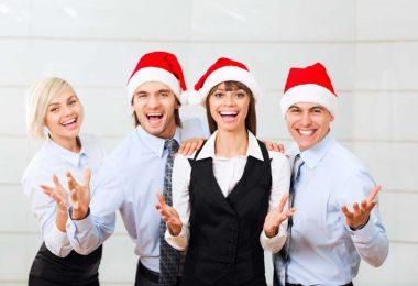 Geschäftliche Weihnachtsgrüße mit Geschenk versenden