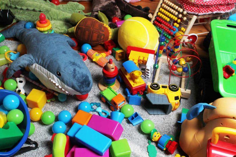 Zu viele Spielsachen? Bringen Sie Ordnung ins Chaos
