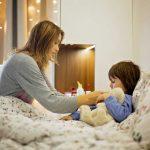 Ein krankes Kind an Weihnachten braucht Ruhe