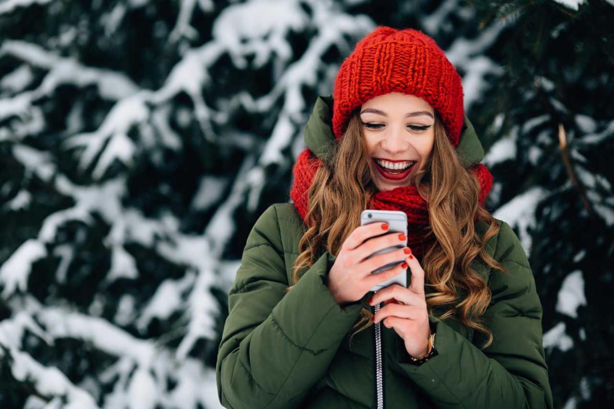 Smartphone-Tipps für den sicheren Wintereinsatz
