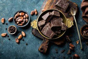 Essen Sie Schokolade auf gesunde Weise