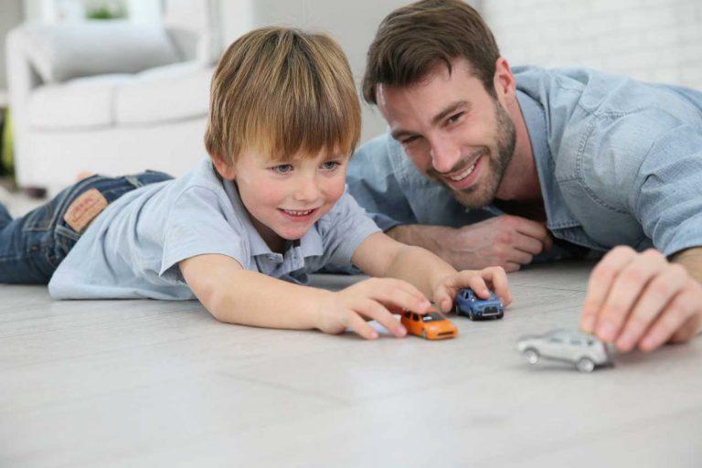 Entspannt unterwegs mit Kindern: Spielzeugtasche