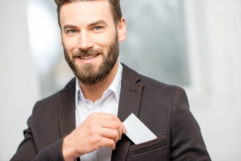 So gestalten Sie als Jobsucher Ihre Visitenkarte