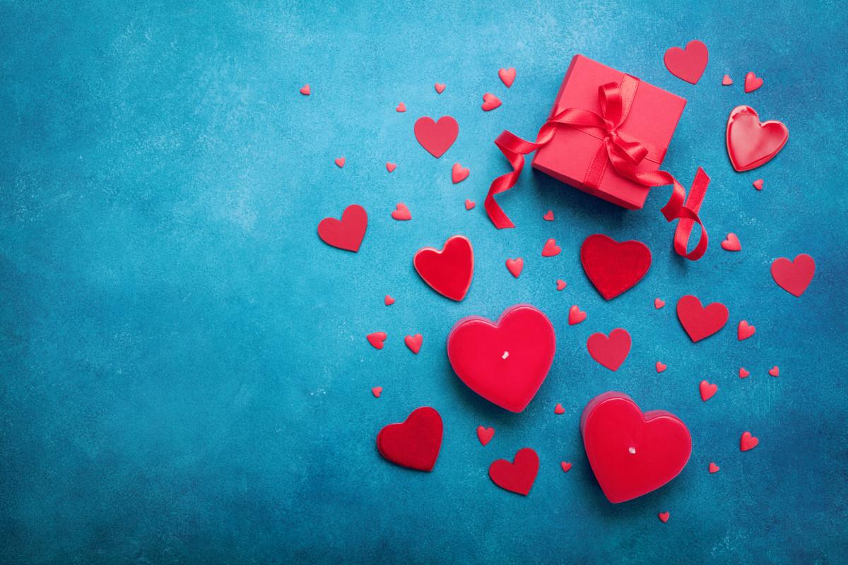 Geschenkideen für den Valentinstag: Herzen gestalten