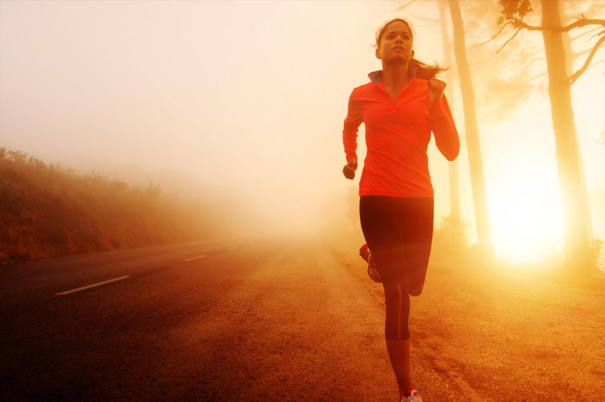 Mit Laufsport den Alltagsstress abbauen