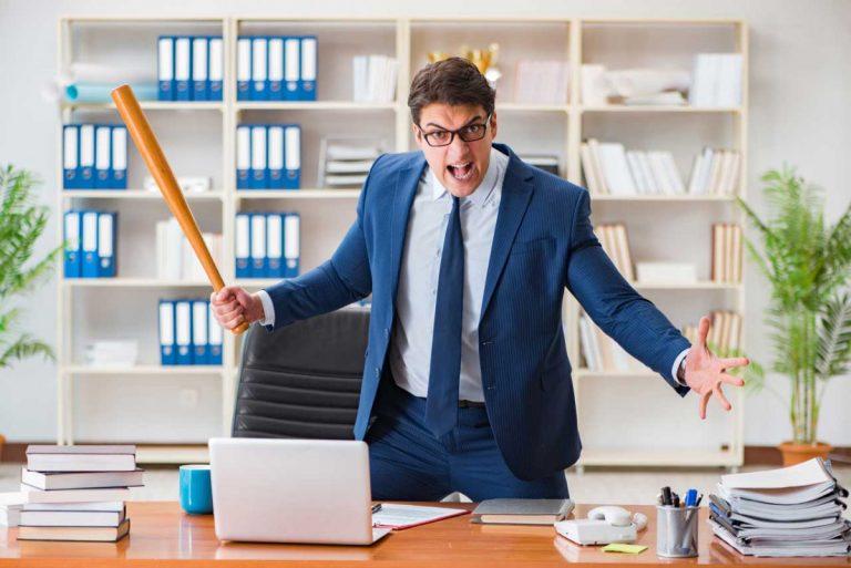 Bürokommunikation: So kommt der Aggressive runter