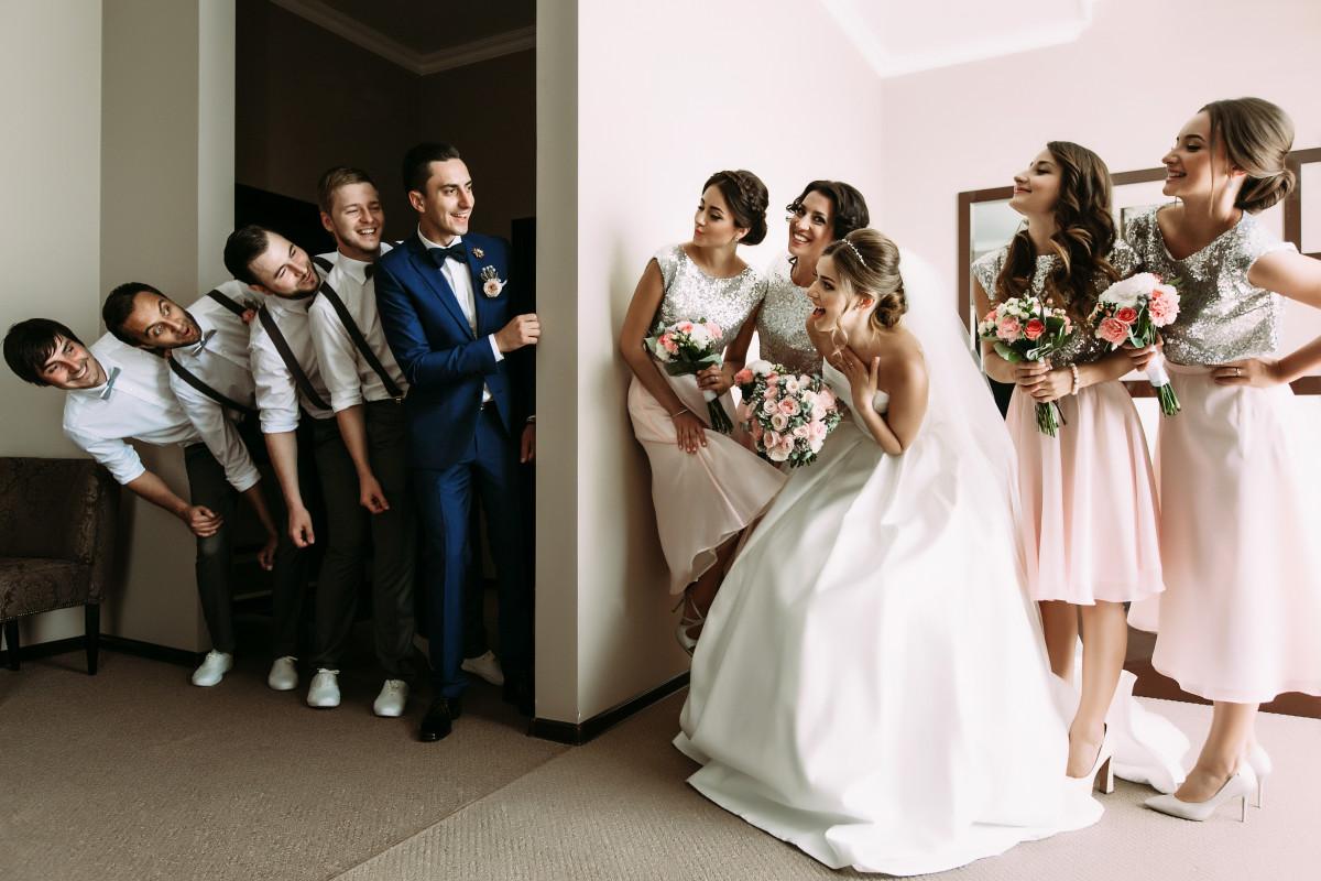 Hochzeitsspiele: Ich kleb dir eine