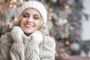 Make-up: warmes braun für kalte Tage